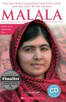 MALALA (BIOGRAPHY) WITH AUDIO CD AND ONLINE RESOURCES -ELEMENTARY