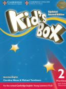 KIDS BOX AMERICAN ENGLISH 2 WORKBOOK WITH ONLINE RESOURCES - UPDATED 2ND ED