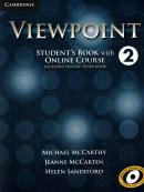 VIEWPOINT 2 STUDENT´S BOOK WITH ONLINE COURSE AND ONLINE WORKBOOK - 1ST ED
