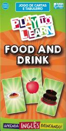 PLAY TO LEARN - JOGO DE CARTAS - FOOD AND DRINK