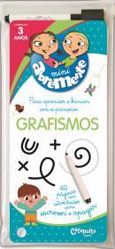 ABREMENTE ESCREVE E APAGA - GRAFISMO - A PARTIR DE 3 ANOS