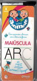 ABREMENTE ESCREVE E APAGA - MAIUSCULA - A PARTIR DE 4 ANOS