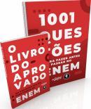 1001 QUESTOES PARA FAZER ANTES DE PASSAR NO ENEM + O LIVRO DO APROVADO
