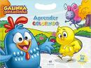 GALINHA PINTADINHA - APRENDER COLORINDO - COM 50 ADESIVOS