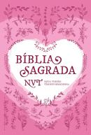 BIBLIA SAGRADA NVT - CORACAO ROSA