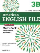 AMERICAN ENGLISH FILE 3B MULTIPACK - 2ND ED