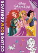 COLORIR C/ ADESIVOS - PRINCESAS (ACOMPANHA + 50 ADESIVOS)