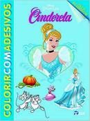 COLORIR C/ ADESIVOS - CINDERELA (ACOMPANHA + 50 ADESIVOS)
