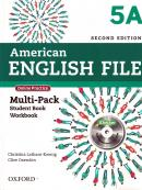AMERICAN ENGLISH FILE 5A SB AND WB MULTIPACK 2ND ED