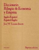 DICCIONARIO BILINGUE DE ECONOMIA Y EMPRESA