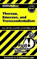 CLIFFSNOTES THOREAU, EMERSON, AND TRANSCENDENTALISM