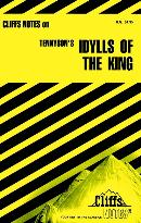CLIFFSNOTES ON TENNYSON´S IDYLLS OF THE KING