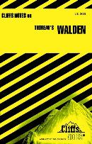 CLIFFSNOTES ON THOREAU´S WALDEN