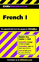 CLIFFSQUICKREVIEW FRENCH I