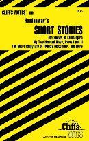 CLIFFSNOTES HEMINGWAY´S SHORT STORIES