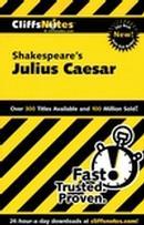 CLIFFSNOTES ON SHAKESPEARE´S JULIUS CAESAR