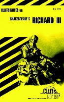 CLIFFSNOTES ON SHAKESPEARE´S RICHARD III