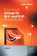 PROPERTIES OF GROUP IV, III V AND II VI SEMICONDUCTORS