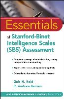 ESSENTIALS OF STANFORD BINET INTELLIGENCE SCALES (SB5) ASSESSMENT