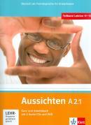 AUSSICHTEN A2.1 KURS /ARBEITSBUCH + 2 AUDIO CDS + DVD