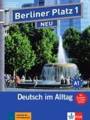 """BERLINER PLATZ 1 NEU DEUTSCH IM ALLTAG LEHR-UND ARBEITSBUCH 1+2 AUDIO CDS UNS """"IM ALLTAG"""" EXTRA"""