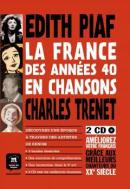 FRANCE DES ANNEES 40 EN CHANSONS, LA - BANDE DESSINEE + 2 CD