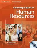 CAMBRIDGE ENGLISH FOR HUMAN RESOURCES SB WITH AUDIO CD