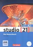 STUDIO 21 - DAS DEUTSCHBUCH (A2.1) ( KURS UND UBUNGSBUCHMIT DVD-ROM ) DVD - E-BOOK MIT AUDIO, INTERAKTIVEN UBUNGEN, VIDEOCLIPS