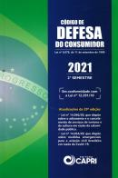 CODIGO DE DEFESA DO CONSUMIDOR 2021 - 2ª SEMESTRE - 29ª ED.