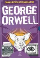 AS OBRAS REVOLUCIONARIAS DE GEORGE ORWELL - BOX COM 3 LIVROS