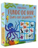 FUNDO DO MAR: LIVRO COM JOGUINHOS
